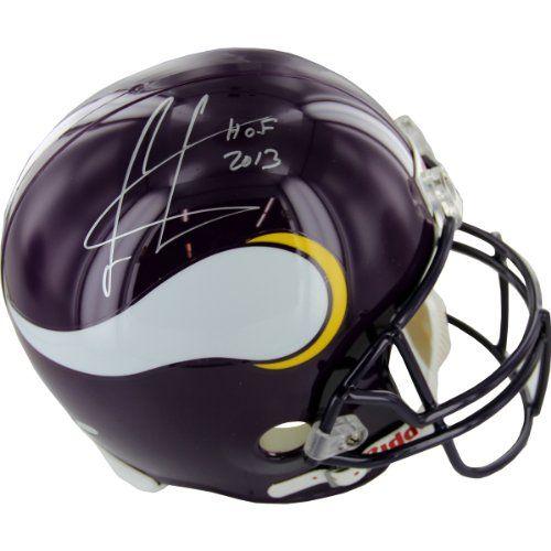 Cris Carter Minnesota Vikings Helmet