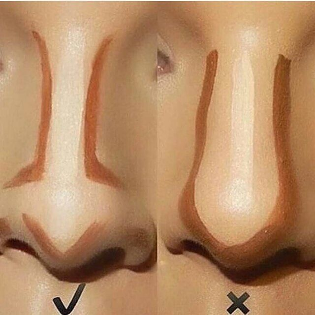 Follow @didinspire  . .  Repost @makeupviral  Finally found the right way to contour the nose via @desibeautyblog .  Follow @makeupviral for more beauty tutorials. . . . #nails #nail #fashion #style #TagsForLikes #cute #beauty #beautiful #instagood #pretty #girl #girls #stylish #sparkles #styles #gliter #nailart #art #opi #photooftheday #essie #unhas #preto #branco #rosa #love #shiny #polish #nailpolish by didinspire