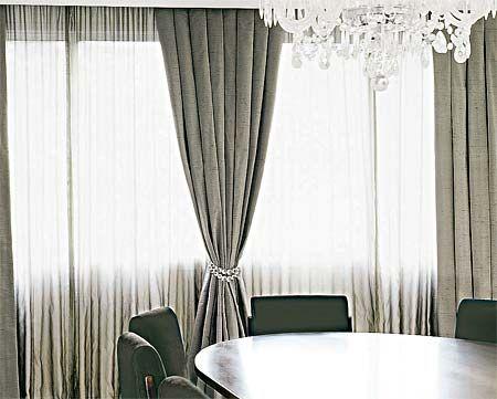 Cortinas transparentes e vaporosas toms for Cortinas transparentes