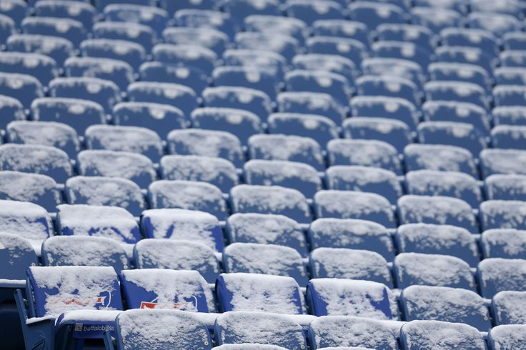 A general view of snow covered seats at New Era Field before a game between the Buffalo Bills and the Pittsburgh Steelers. (Timothy T. Ludwig-USA TODAY Sports)  via @AOL_Lifestyle Read more: https://www.aol.com/article/weather/2017/03/13/blizzard-warnings-issued-with-winter-storm-stella-set-to-blast-northeast/21880769/?a_dgi=aolshare_pinterest#fullscreen