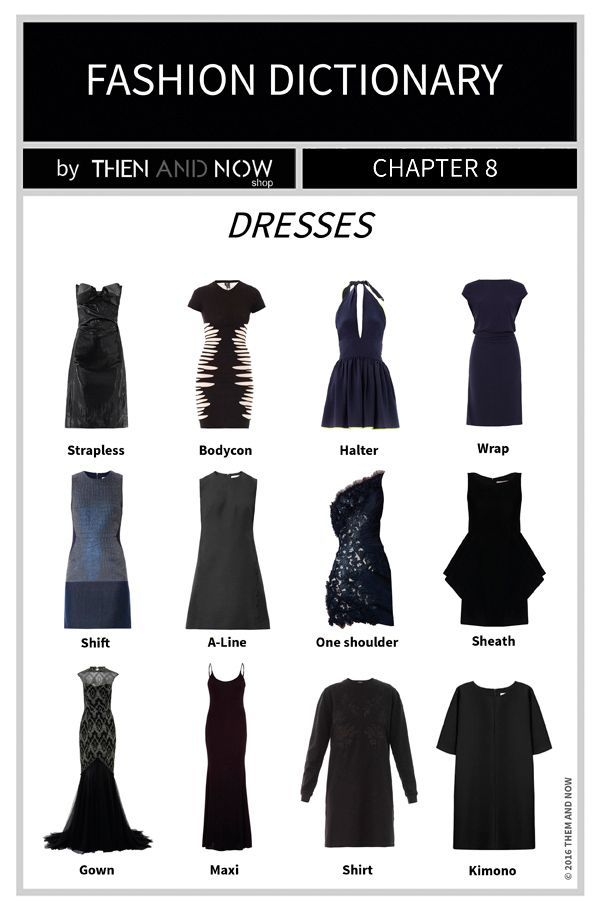 Best 25+ Types of dresses ideas on Pinterest | Types of ...