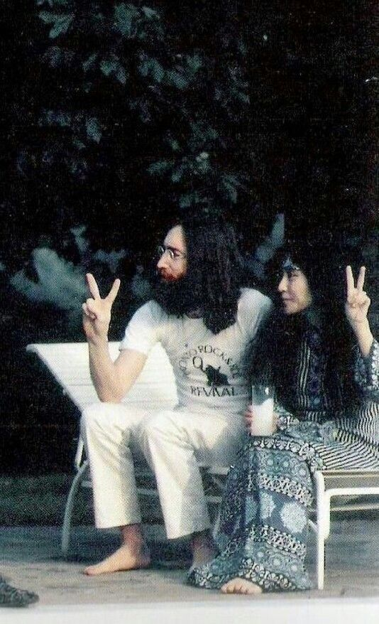 53 Best John Lennon Amp Yoko Ono Images On Pinterest John