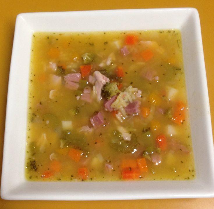 Jo's Hearty Chicken Soup