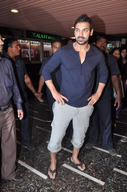 John Abraham promoting his film 'Shootout at Wadala' in Mumbai on May 4, 2013