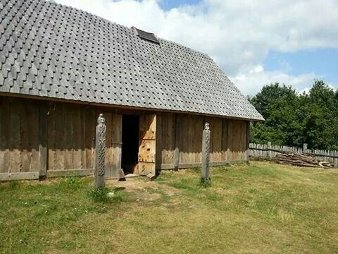 Valsgaard Longhouse in Wallsbüll..