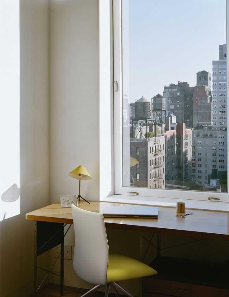 Home Office With Kinesit Chair By Lievore Altherr Molina For Arper High Rise