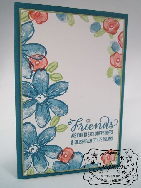 Stampin' Up! by Stampin Jacqueline: Garden in Bloom, deel 1