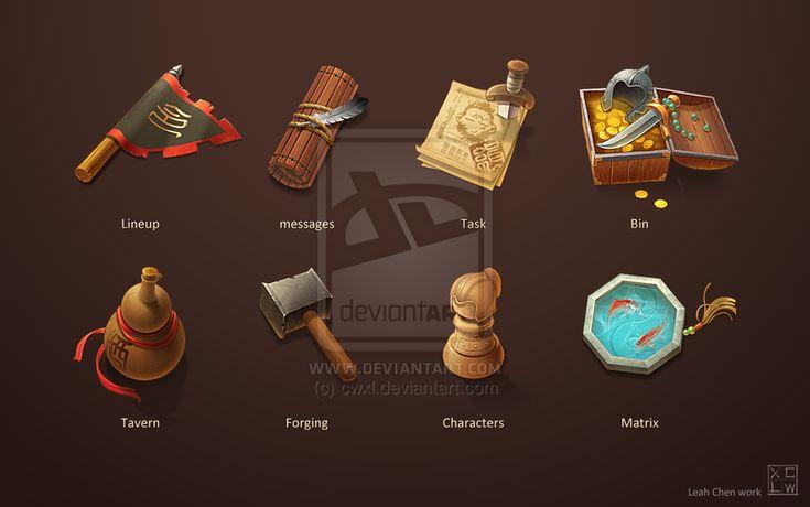 Game Icon Design by ~cwxl on deviantART