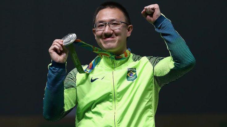 Felipe Wu leva a prata e conquista primeira medalha do Brasil na Rio-2016