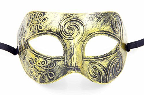 Megashopping Bronze Mardi Venetian Costume Masquerade Party Mask *** Want additional info? Click on the image.