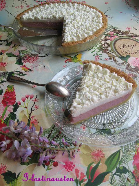 I-Lost in Austen: Okinawan Sweet Potato Haupia Pie