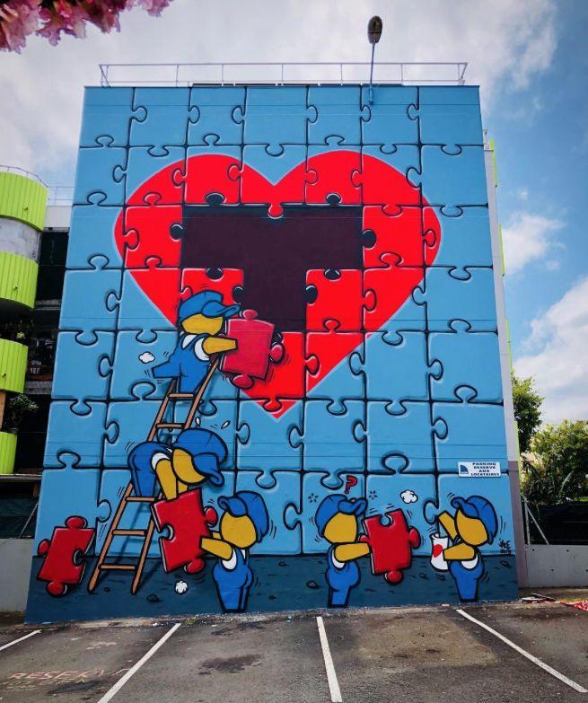 красивое граффити о любви фото два, некоторые