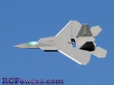 RC Powers Designed Laser Cut F22-V2 Kit - Intermediate - The new RCPowers Easybuild F-22 V2 is one of the best parkjets around. Its large wings give you a very low wing loading with a high degree of maneuverability through thrust vectoring.