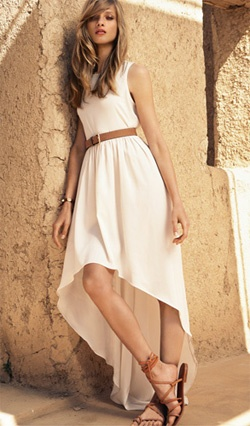 Devil wears Zara » semana del abrigoFashion, Hair Colors, High Low Dresses, Style, Highlow, Maxis Dresses, White Summer Dresses, The Dresses, Give Selezneva