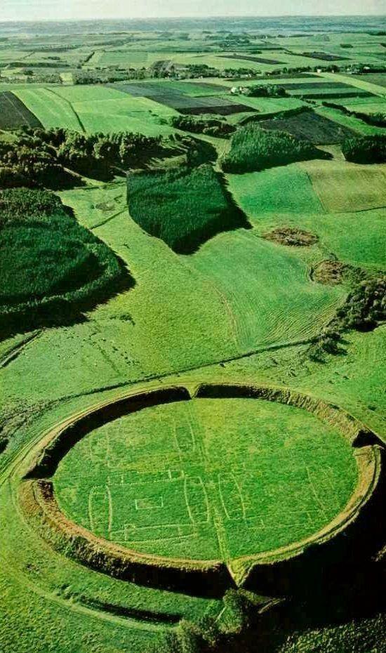 Viking Circular Bastion ~ Hobro, Denmark