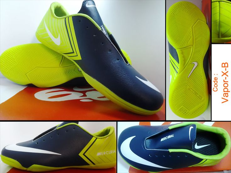 Sepatu Futsal Nike Vapor 10 Hitam Ijo adalah model terbaru dari produk nikekombinasi warna hijau dan hitam tampak kalem dan elegan menambah percaya diri pemakainya, dengan kualitas Lokal dan memiliki harga yang erjangkau membuat sepatu futsal nike ini banyak diminati pecinta olahraga futsal.
