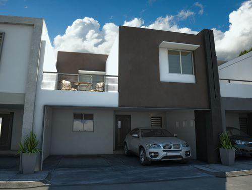 17 mejores ideas sobre fachadas de casas contemporaneas en for Mejores fachadas de casas modernas