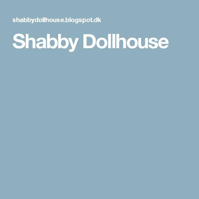 Shabby Dollhouse