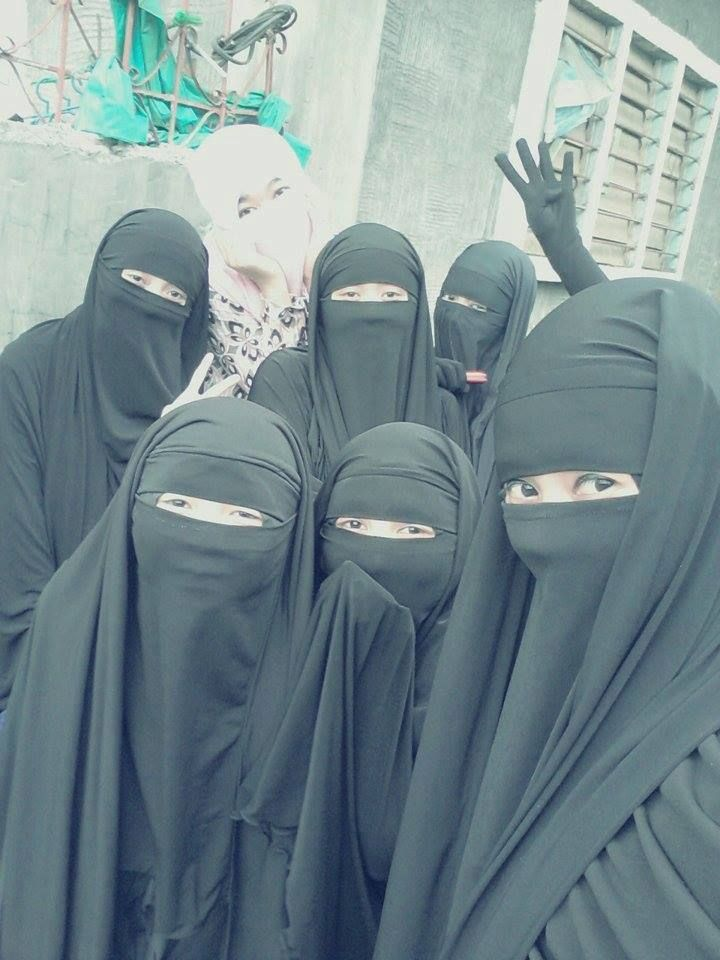 Reality Of Niqabis : Photo