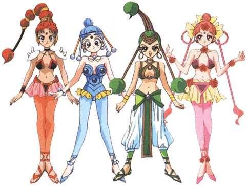 Sailor moon supers sailor vesves amazoness quartet custom