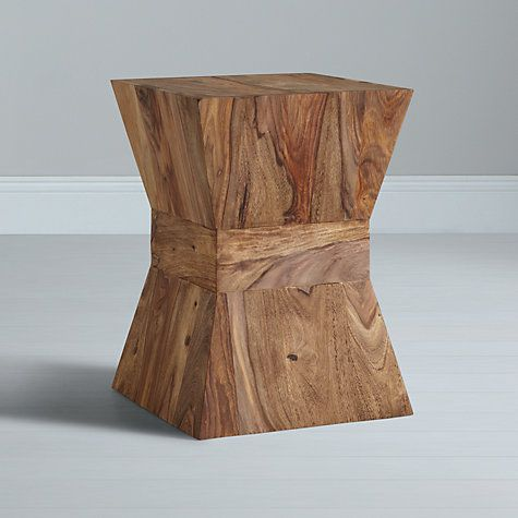 Buy John Lewis Stowaway Side Table, Unfinished Online at johnlewis.com