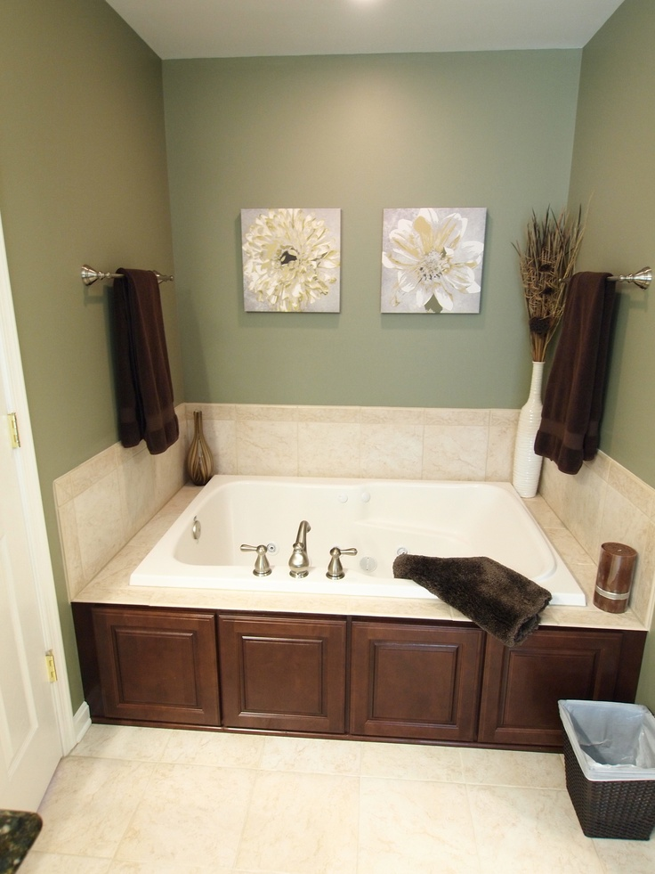 Best Photo Gallery For Website Jetted Tub w Cabinet Doors that Match the Vanity Jetted TubBathroom RenovationsBathroom