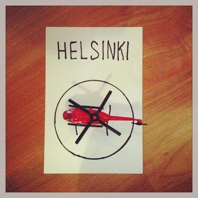 Hupsutteluja: H niinku helikopteri