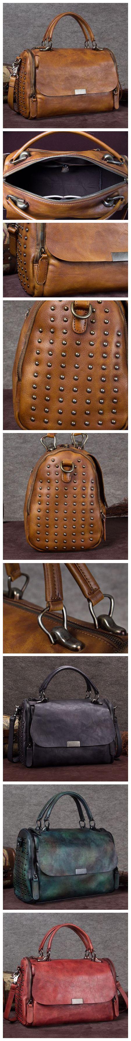 Handmade Duffle Bag, Travel Bag, Ladies Handbag, Overnight Bag A0138