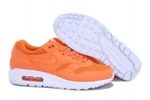 Grossisti uomo nike air max 1 scarpe running quot ripstop brights quot arancioni e bianche a basso prezzo italia