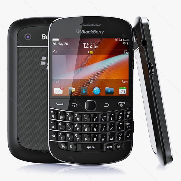 Copy Blackberry Bold 9900 3D Max - 3D Model