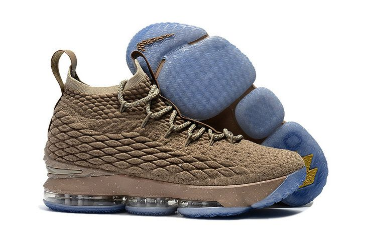 763ca0e7aae9 2018 Popular Basketball Shoe LBJ XV Nike LeBron 15 KITH x wheat ...