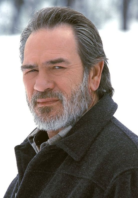 Tommy Lee Jones - I love this actor even though he's a Liberal & lived with Al Gore during their college days.