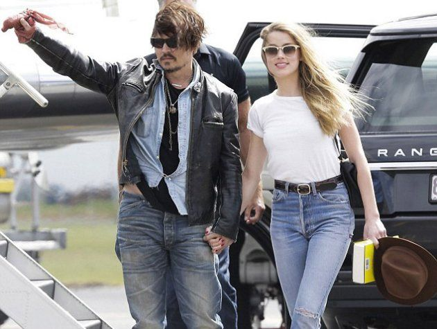 Johnny Depp and Amber Heard are still together (AKM-GSI)