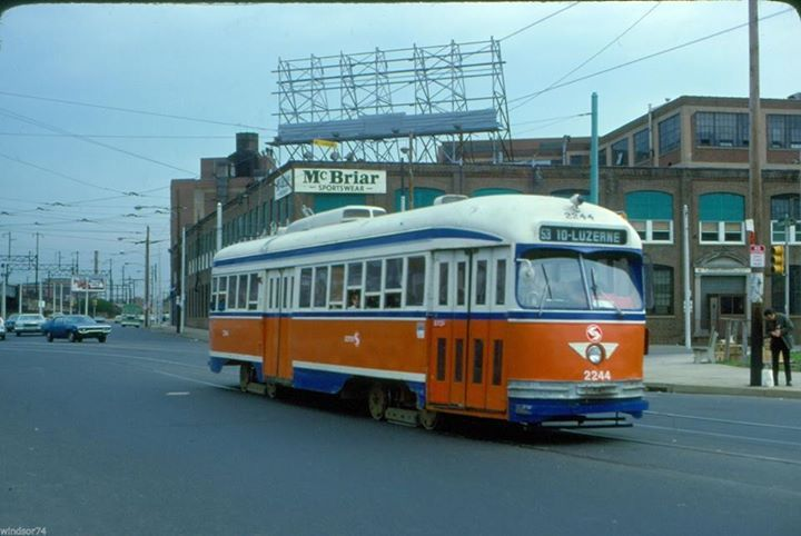 SEPTA Ex.KC,Toronto PCC on Rt.53  1978