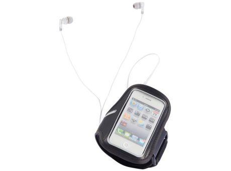Brazalete para correr iPhone. Funda de neopreno para iPhone ideal para hacer footing ya que se coloca en el brazo. Tambien dispone de un pequeño bolsillo para auriculares o llaves. #promopresent #regalosdeempresa