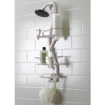 Umbra Bird Bath Shower Caddy - White - 023260-660