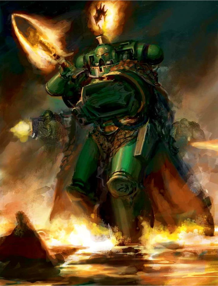 "front-line-head-line: "" Thought of the Day: Hard work conquers everything. "" Vulkan He'stan of the Salamanders from the space marine Codex"