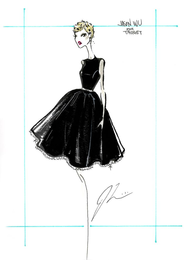 Jason Wu Dresses For Little Girls Jason Wu fashion sketches