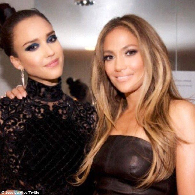 #WCW: Jessica Alba gave a nice shout-out to Jennifer Lopez last week saying: 'My #wcw is the beautiful and talented @JLo'