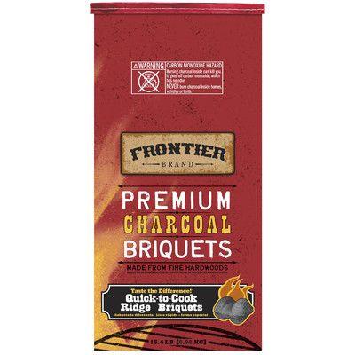 Frontier Charcoal Briquet Size: 2