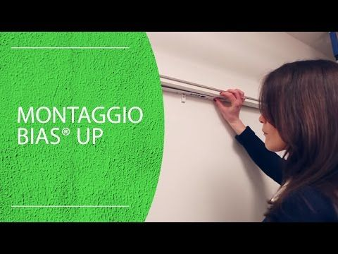 Eclisse BIAS™ UP, ammortizzatore universale per porte scorrevoli a scomparsa - YouTube