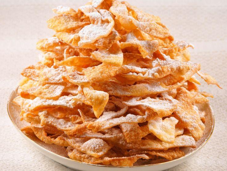 wegańskie faworki (chrust)
