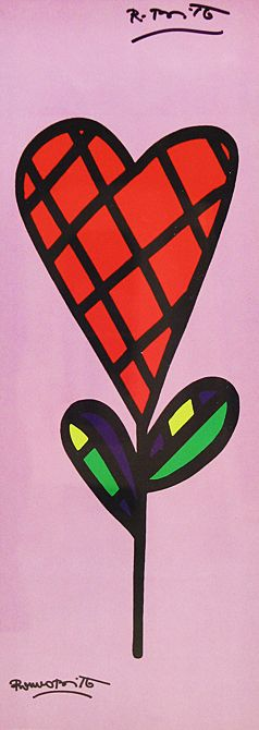 criss cross By Romero Britto