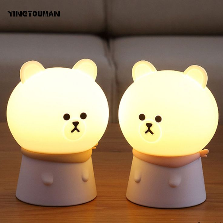 YINGTOUMAN Cute Bear Take Control Bedside USB Lamp Charging Colorful LED Silicone Embryonic Bear Emotional Silica Gel Lamp. Yesterday's price: US $26.74 (21.90 EUR). Today's price: US $16.04 (13.14 EUR). Discount: 40%.