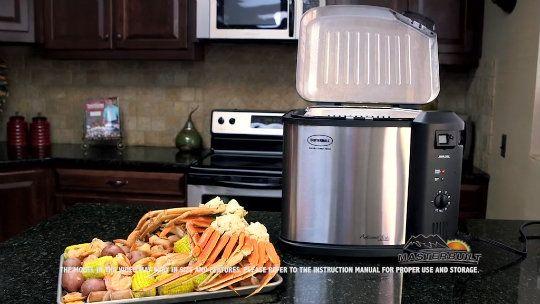Butterball XXL Digital 22 lb. Indoor Electric Turkey Fryer by Masterbuilt - K41297 — QVC.com