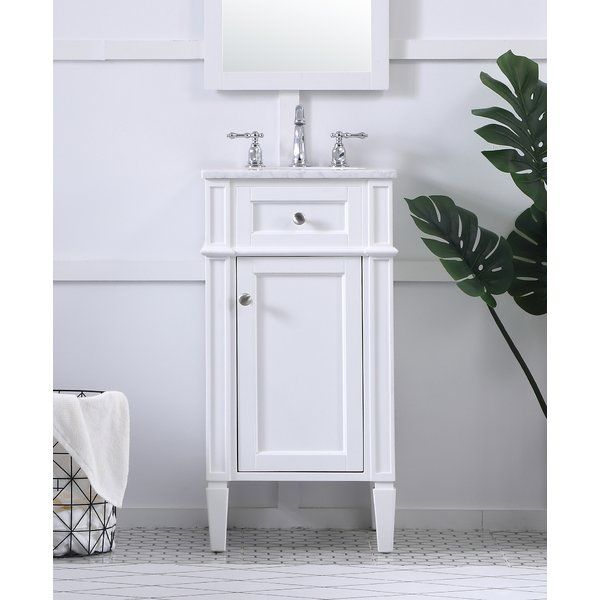 From Its Italian Carrara Marble Top To Its Contemporary Style Hand Painted Cabinet It Is Sure To Enhance Either Single Bathroom Vanity Bathroom Vanity Vanity
