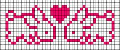 Alpha Friendship Bracelet Pattern #9125