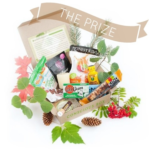 Conscious Box Review + Giveaway | amazing 100% natural products | Win a FREE 3 month subscription, door delivered natural products each month!