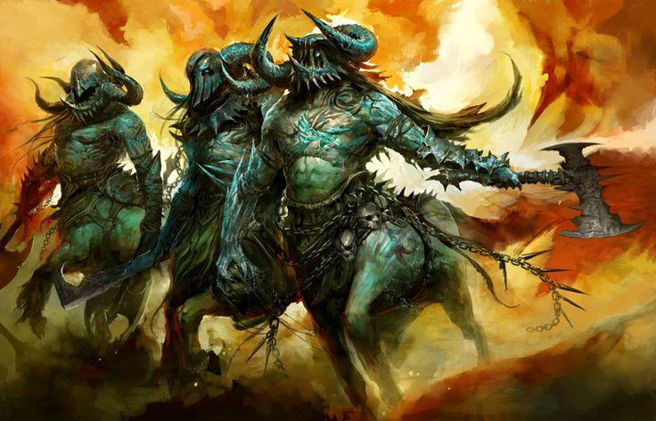 Beautiful Centaur - By Guild Wars 2 Art & Pictures - Centaur Raiders