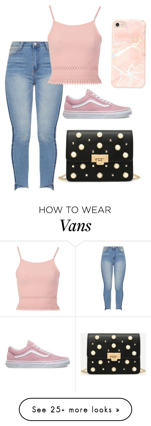"""Sem título #1760"" by natalierlu on Polyvore featuring Pilot and Vans"